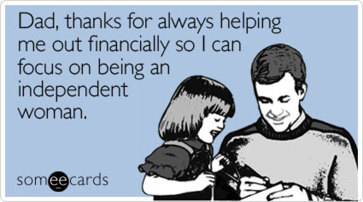 PHOTOS: The Funniest Father's Day Someecards  AldyWaldy